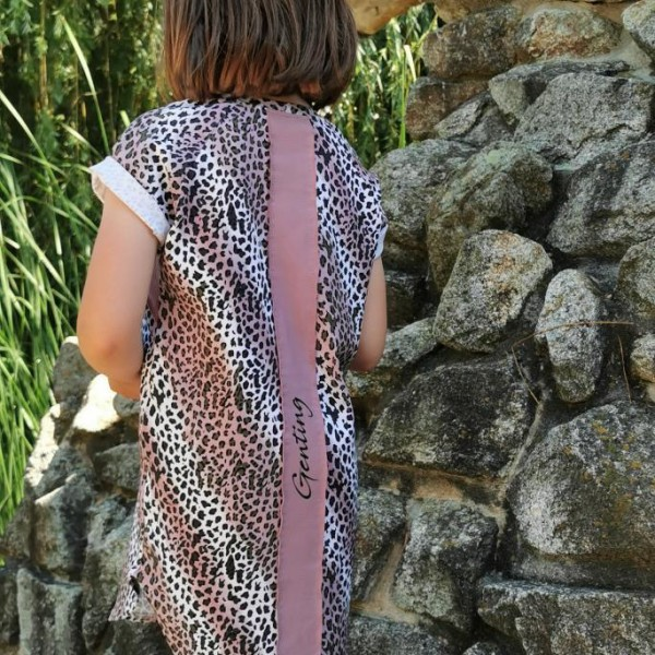PIPPA pink šaty