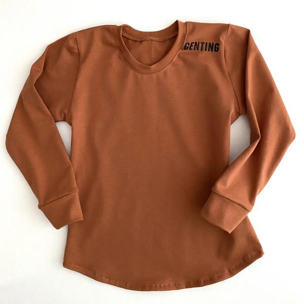 Tričko -GNT škoricové