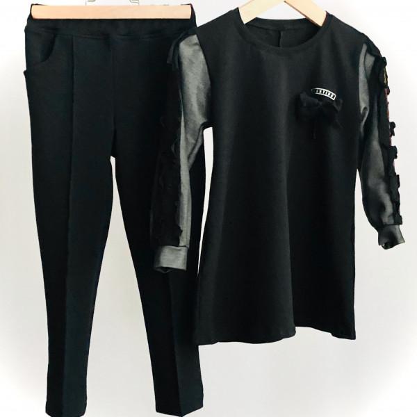 MABON Black -jemne zateplené nohavice