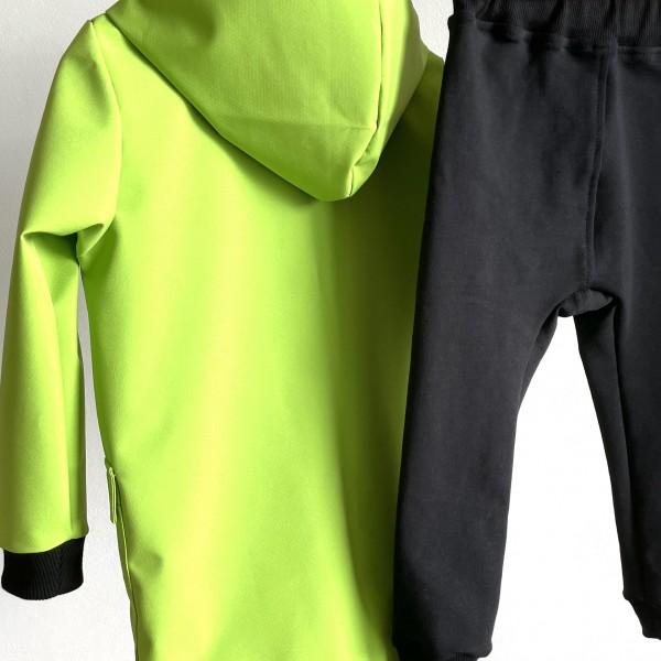 Softshellová bunda Green apple- nezateplená