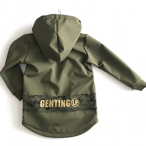 Softshellová bunda - čierna