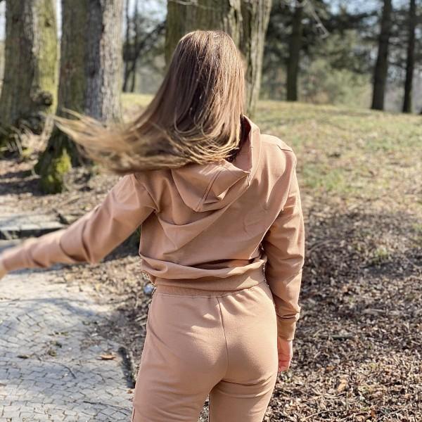 Tepláky Simple brown