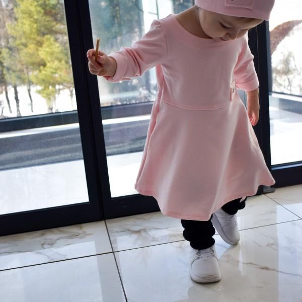 Šaty queen - pink