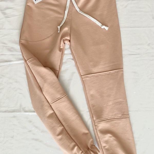Old pink - nezateplené tepláky